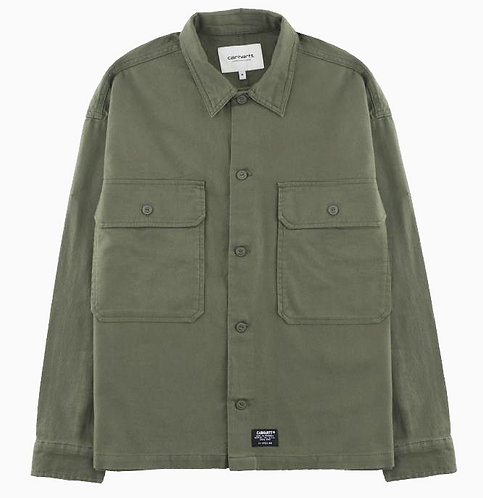 CARHARTT WOMAN SALINAS SHIRT - ROVER GREEN