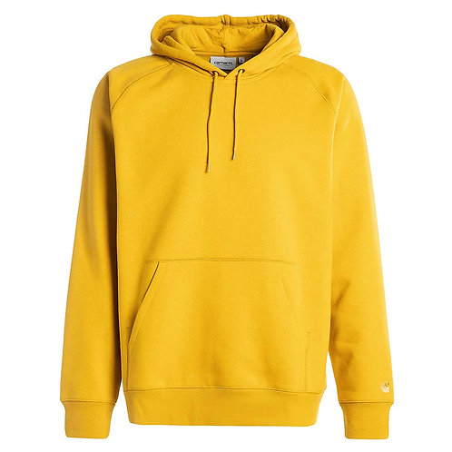 CARHARTT HOODED CHASE SWEAT COLZA/GOLD*