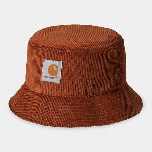 CARHARTT BUCKET HAT CORD - BRANDY
