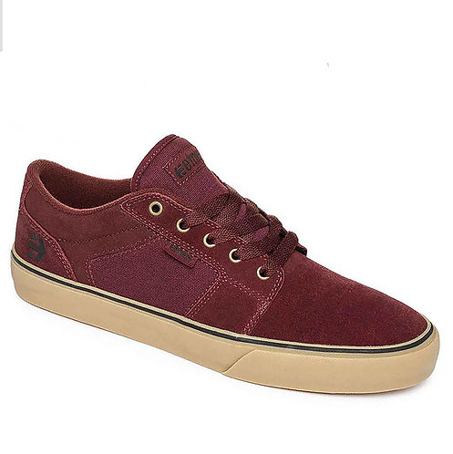 ETNIES BARGE LS - BURGUNDY/TAN*