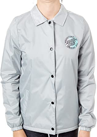 SANTA CRUZ WOMEN JACKET SILVER*