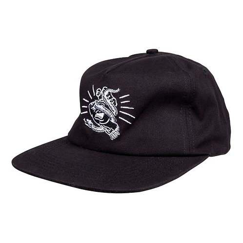 SANTA CRUZ SNAKE BITE CAP - BLACK