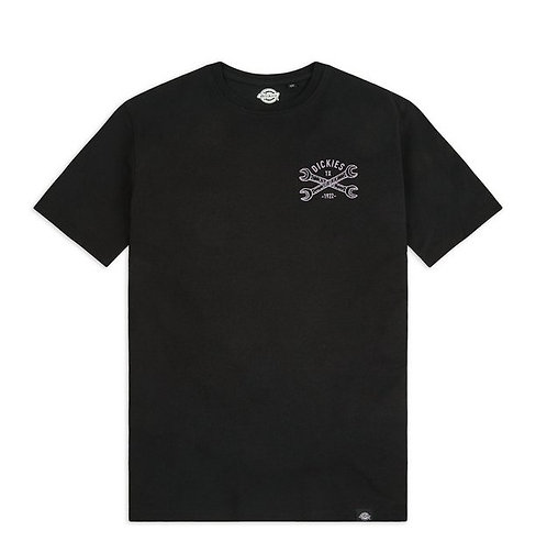 DICKIES SLIDELL TEE - BLACK