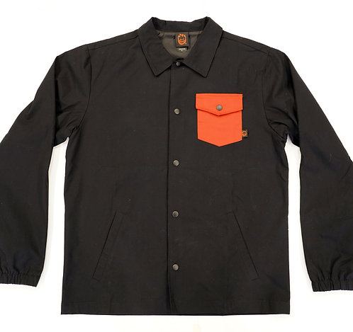 SPITFIRE POTERO COACH JACKET - BLACK