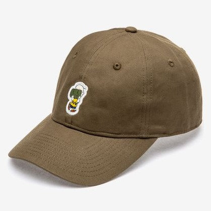 ELEMENT PEANUTS DAD CAP ARMY