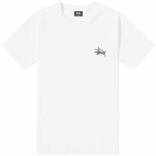 STUSSY WAITER TEE - WHITE