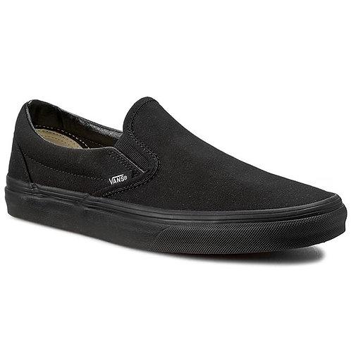 VANS CLASSIC SLIP-ON BLACK/BLACK*