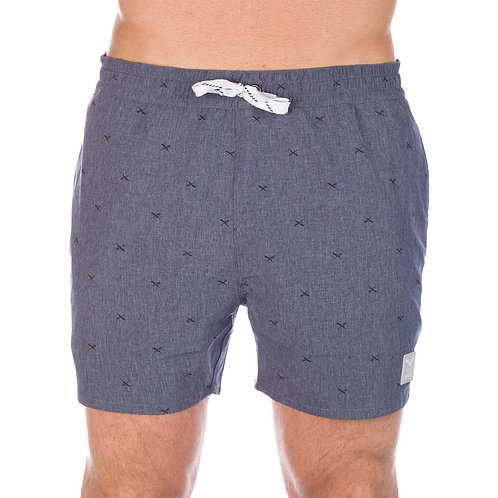 IRIEDAILY FLAG X SWIM 2 SHORT NAVY MEL*