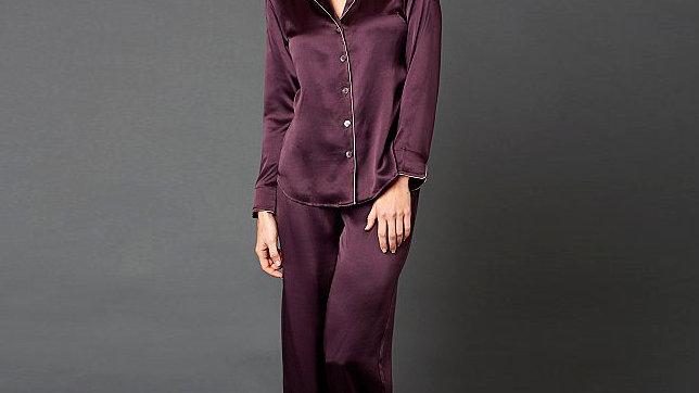 Silky pajama set