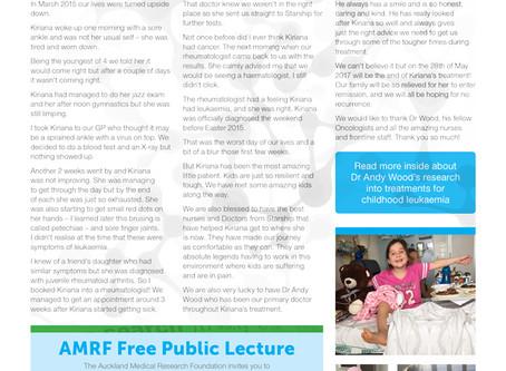 AMRF Newsletter - Autumn 2017