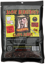 JB's GARLIC PEPPER CAJUN JERKY for webst