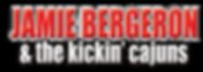 JAMIE BERGERON & the kickin' cajuns logo