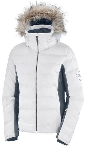 Salomon Stormcozy Jacket W White