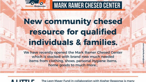New Community Chesed Resource For Individuals & Families