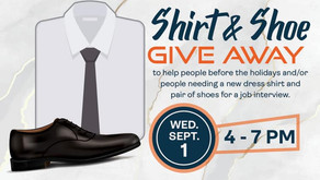 Leon Mayer Fund Shirts & Shoes Giveaway!