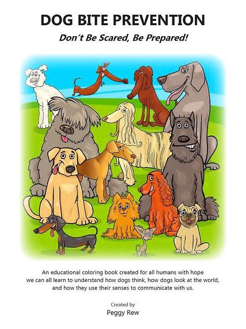 DOG BITE PREVENTION COLORING BOOKS