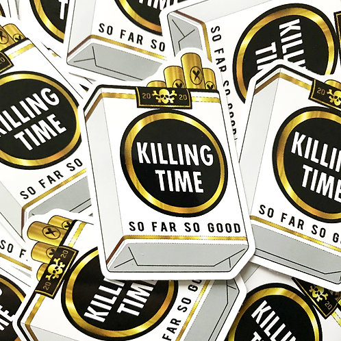 Killing Time Sticker Pack