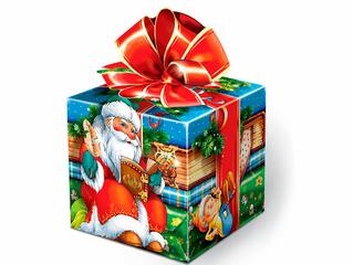 Информация о получении новогодних подарков
