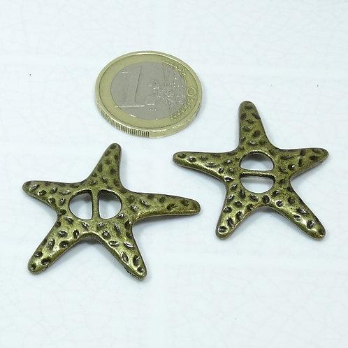 14 Hebillas Estrellas 37mm T464C
