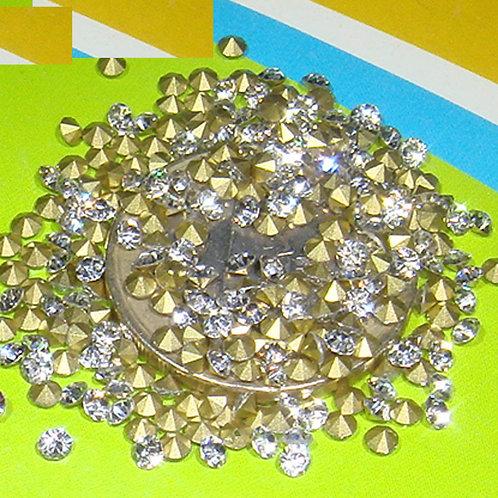 250 Zirconias Cubicas de Cristal 2,5mm T420