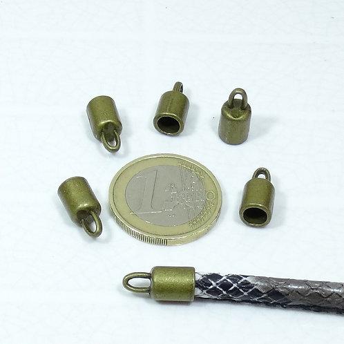 40 Terminales Para Cuero 14x7mm T242