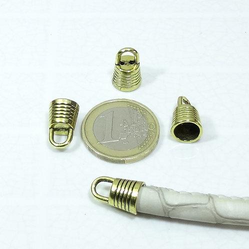 34 Terminales Para Cordón 14x10mm T576C