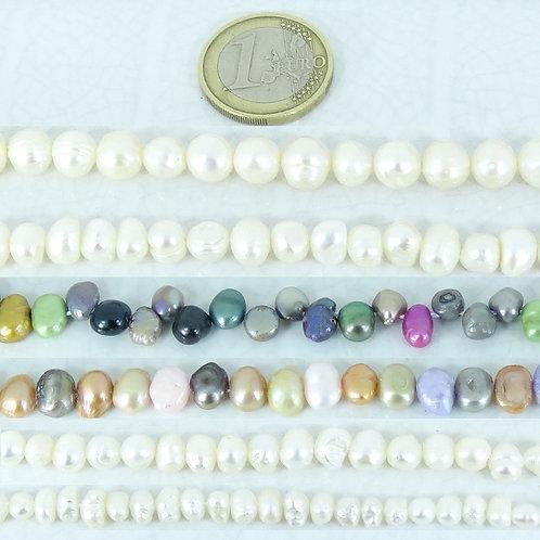 Lote de Perlas De Río Cultivadas
