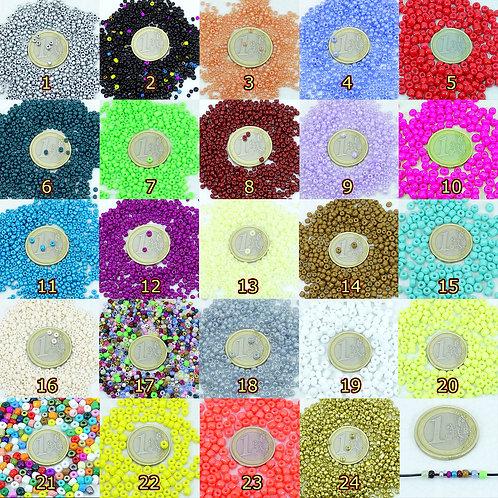 40 Gramos Rocalla de Cristal T001C
