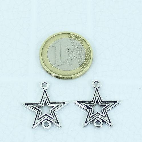 34 Estrellas Para Pulsera 22mm T107H