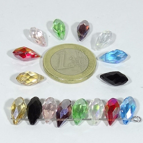 Lote de 15 Cristales Gota A Elegir T71C