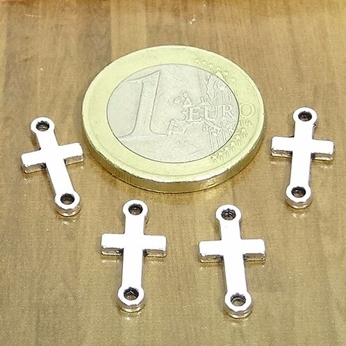 90 Abalorios Cruces 15x8mm T38X