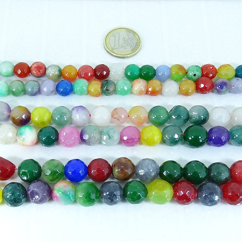 Lote De Piedras Naturales Facetadas 10-13mm