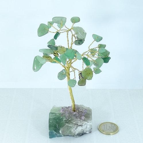 1 Arbol Con Piedras Naturales Jade