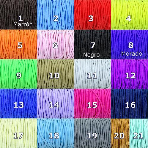 10 Metros Cordón Elastico 2mm A151X
