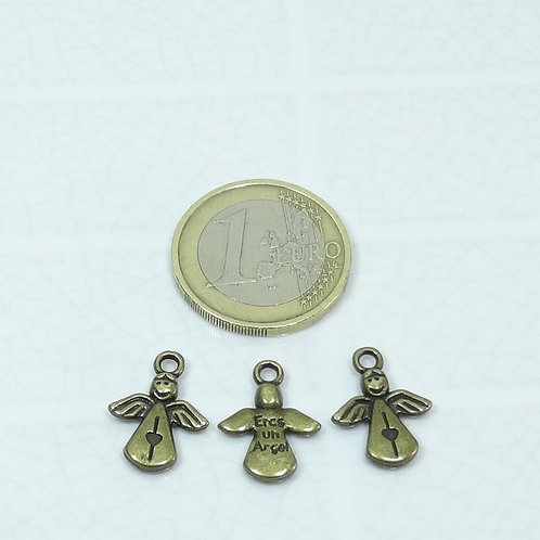 43 Colgantes Angelitos 16x12mm T112