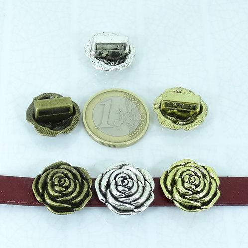 10 Hebillas Rosas Para Cuero 19mm