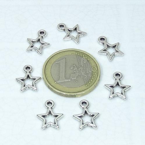 82 Colgantes Estrellas 14mm T416A