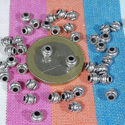 200 Tubos Pequeños 4,5mm T479X