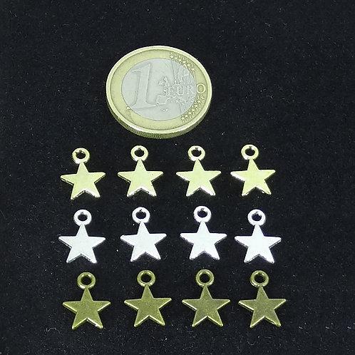 Lote de 105 Colgantes Estrellas A Elegir