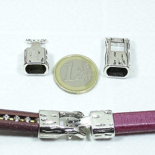 3 Set de Cierres Para Cuero Regaliz 37mm T345
