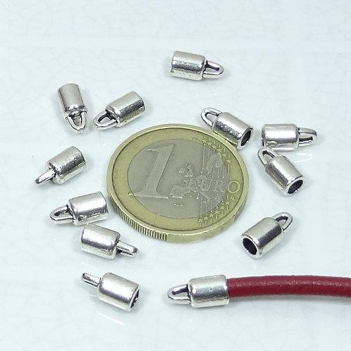 100 Terminales Para Cuero 9mm T192
