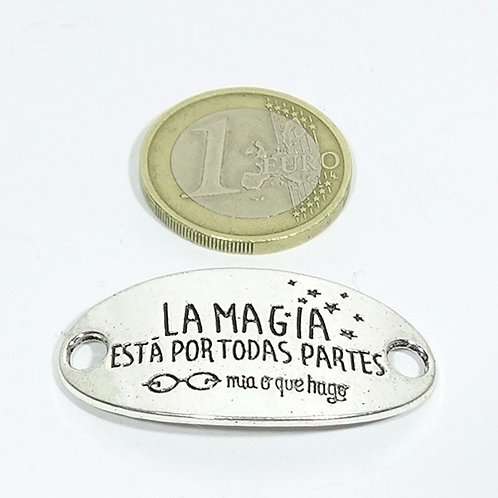 8 Chapas La Magia está en... 35x23mm T282X