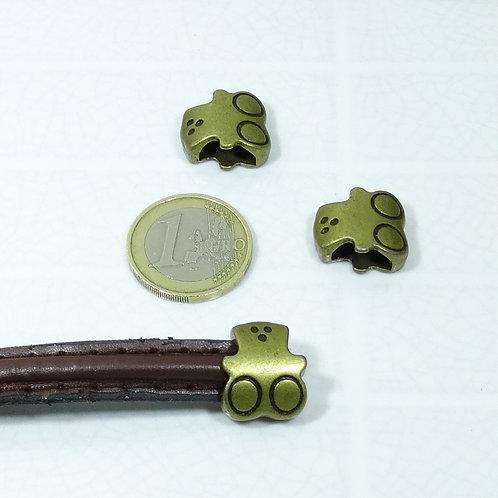 8 Abalorios 17x15mm T03A