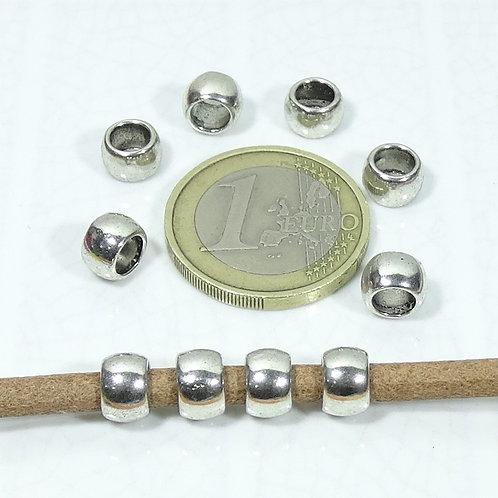 60 Tubos Lisos 7x5mm T411C - T78