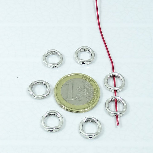 60 Abalorios Para Pulsera/Collar 11mm T71X