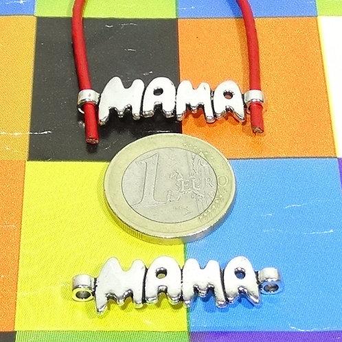 19 Chapas Para Pulsera Mama 35x10mm T567X