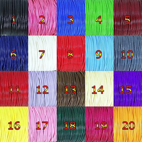 20 Metros Hilo Encerado Brillante 1,5mm A149X