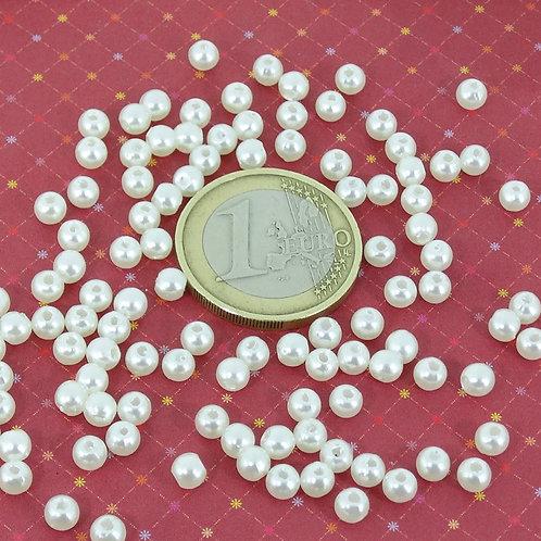 1200 Perlas Acrilicas 4mm T232H