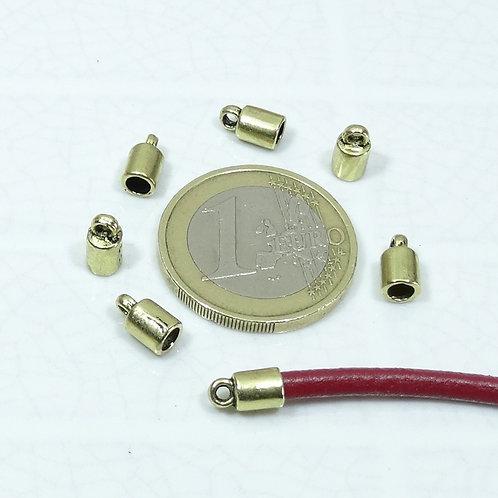 115 Terminales Para Cuero 8x4,5mm T567A