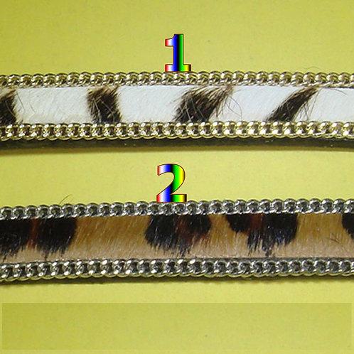 1 Metro de Cuero Piel de Potro 11mm A107